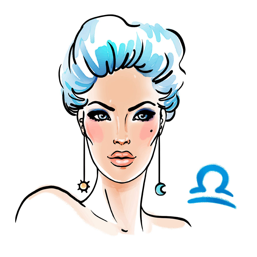 Libra zodiac sign as a beautiful girl - Leo man and Libra Woman Compatibility