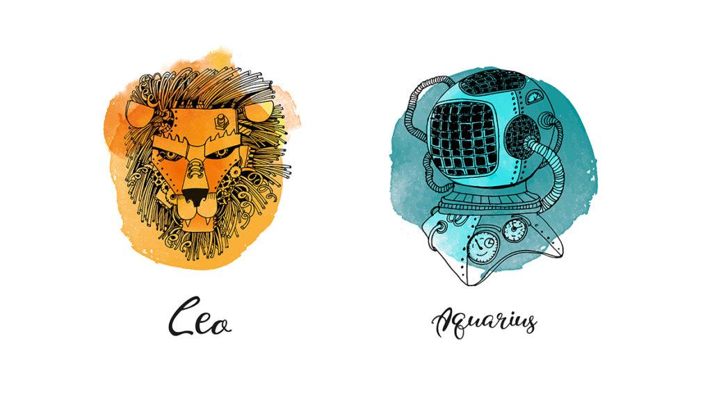 Leo man with Aquarius rising
