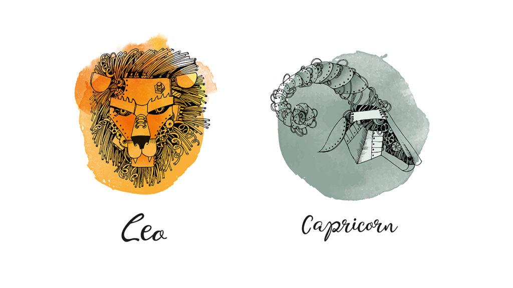 Leo Man with Capricorn Rising
