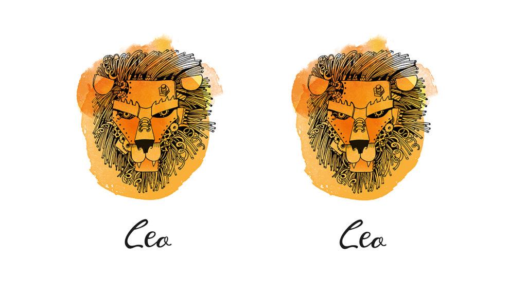 Leo man with Leo rising